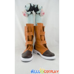 Dragon Ball Cosplay Shoes Trunks Boots Brown