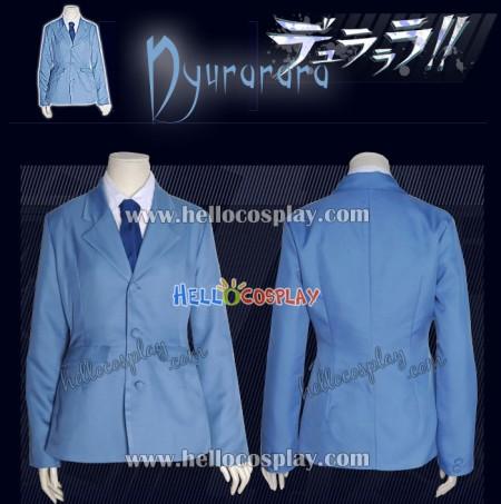 Durarara!! Cosplay Costume School Boy Uniform