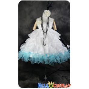 Vocaloid 2 Cosplay Hatsune Miku Formal Dress Costume
