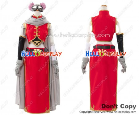 Gintama Silver Soul Cosplay Kagura 2 Years Later Costume Full Set