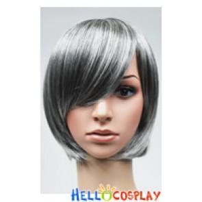 Grey White Bobo Cosplay Short Wig