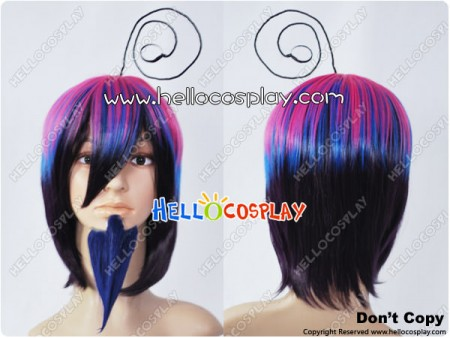 Blue Exorcist Cosplay Mephisto Pheles Wig