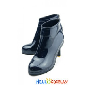 Puella Magi Madoka Magica Cosplay Homura Akemi Shoes