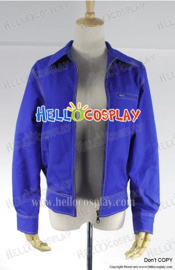 Superman Clark Kent Jacket Cosplay Costume Blue