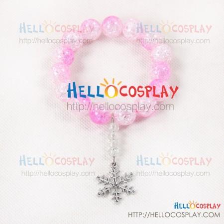Overwatch Cosplay Mei Ling Zhou Bracelet Pink Prop