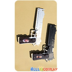 Devil May Cry DMC 4 Cosplay Dante Ebony And Ivory Two Guns Weapon Prop New Version