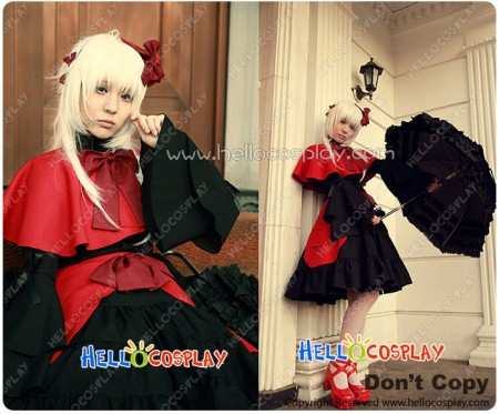 K Anime Cosplay Anna Kushina Costume Lolita Dress