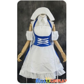 Chobits Cosplay Chi Blue Work Uniform Costume