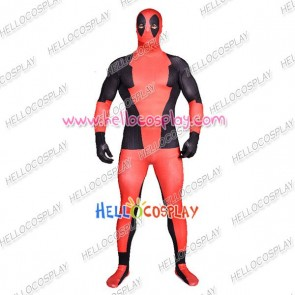 Deadpool Wade Wilson Cosplay Costume Jumpsuit