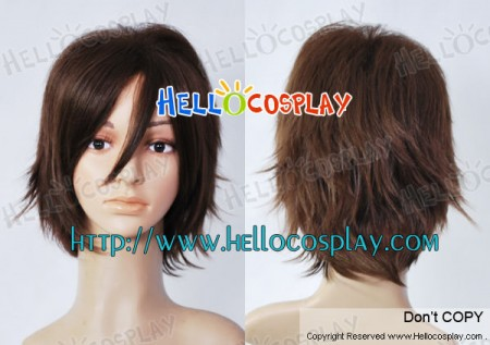 New Future City No.6 Cosplay Shion Brown Wig