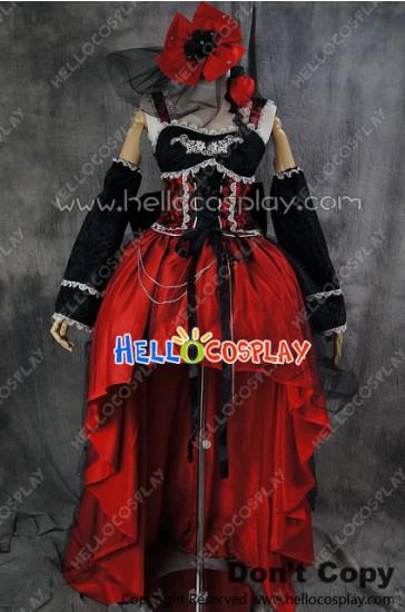 Gothic Lolita Cosplay Vampire Luxury Evening Dress Costume