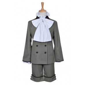 Black Butler Cosplay Ciel Phantomhive Costume Yellowish Brown