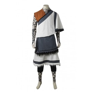The Last Guardian The Young Boy Monk Cosplay Costume