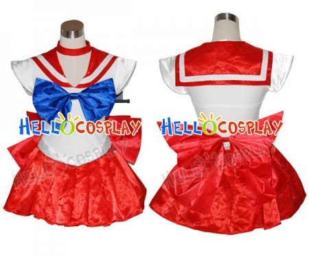 Sailor Moon Raye Hino Mars Cosplay Costume