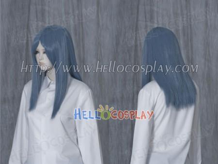 Steel Blue 50cm Cosplay Straight Wig