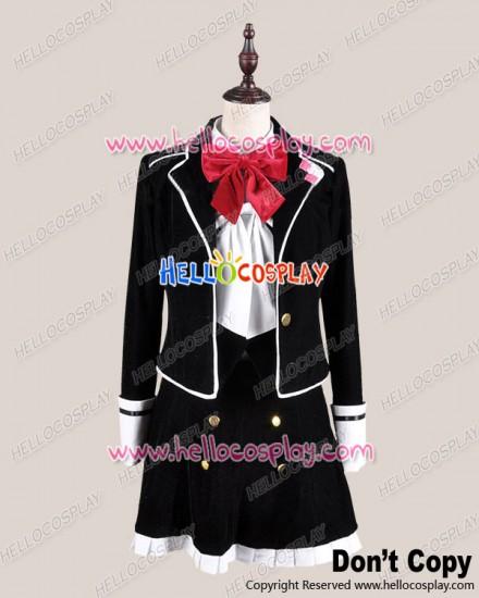 Diabolik Lovers Cosplay Yui Komori School Girl Uniform Costume