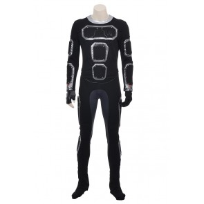 Fantastic Four 2015 Film Human Torch Jonathan Storm Cosplay Costume Jumpsuit