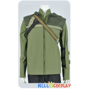 Green Arrow Cosplay Oliver Queen Green Jacket Costume