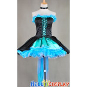 Vocaloid Kiss Me Hatsune Miku Dress Cosplay Costume