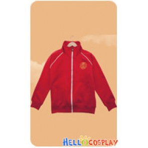Silver Spoon Cosplay Oezo Agricultural High School Equestrian Department Red Sportswear Jacket Costume