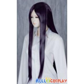 Darker Purple Medium Cosplay Straight Wig