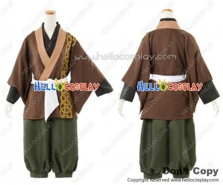 Hakuōki Hakuouki Shinsengumi Kitan Cosplay Soji Okita Costume Kimono