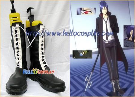Katekyo Hitman Reborn Cosplay Mukuro Rokudo Boots Black