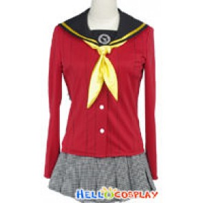 Shin Megami Tensei: Persona 4 P4 Yukiko Amagi Cosplay Costume