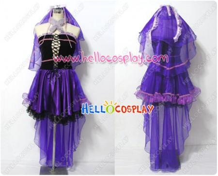 Macross Frontier Cosplay Sheryl Nome Wedding Dress