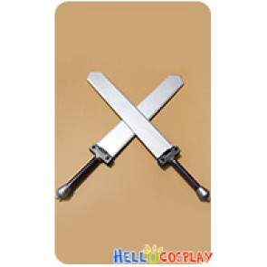 Unlight Cosplay Juggernaut Abel Double Pole Broadsword Weapon