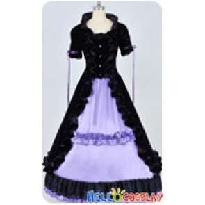 Renaissance Gothic Lolita Violet Ball Gown Purple Lolita Dress