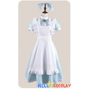 Amnesia Cosplay Heroine Costume Alice Maid Dress