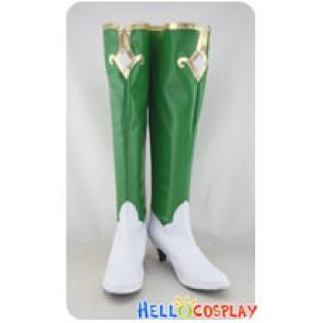 Hyperdimension Neptunia Cosplay Vert Long Boots