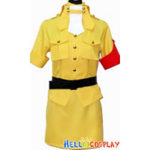 Hellsing Cosplay Seras Victoria Yellow Costume