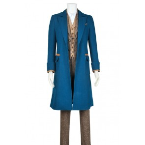 Fantastic Beasts and Where to Find Them Newt Scamander Cosplay Costume New
