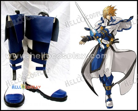 Ky Kiske Cosplay Boots From Guilty Gear