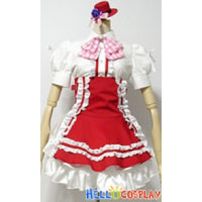 Macross Frontier Gemini Version Ranka Lee Cosplay Costume