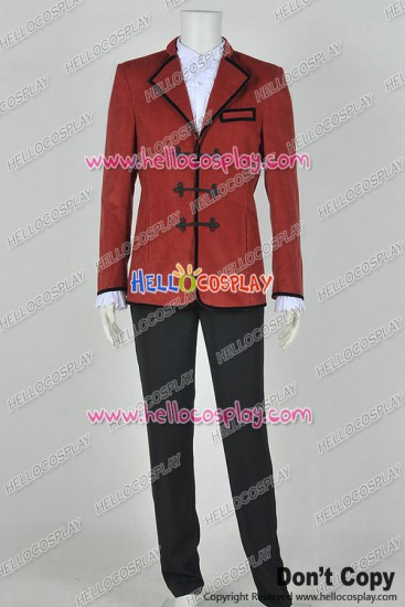 Doctor The 3rd Third Dr Jon Pertwee Jacket Red Cosplay Costume