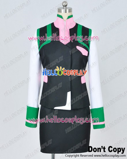 Valvrave The Liberator Season 2 Cosplay Saki Rukino Uniform Costume