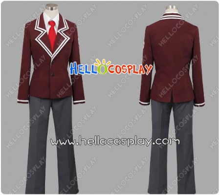 Aria The Scarlet Ammo Cosplay Butei High School Boy Uniform