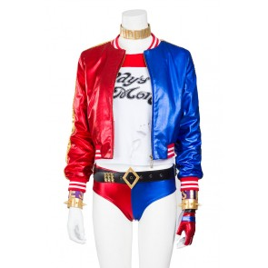 Suicide Squad Harley Quinn Cosplay Costume Uniform