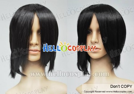 Black Butler Kuroshitsuji Sebastian Cosplay Wig