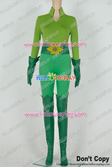 Batman And Robin Poison Ivy Cosplay Costume Green Uniform