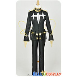 Kill La Kill Cosplay Houka Inumuta Final Uniform Costume Black Version