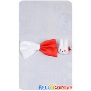 Danganronpa Cosplay Junko Enoshima Rabbit And Bow Hairpins Accessories