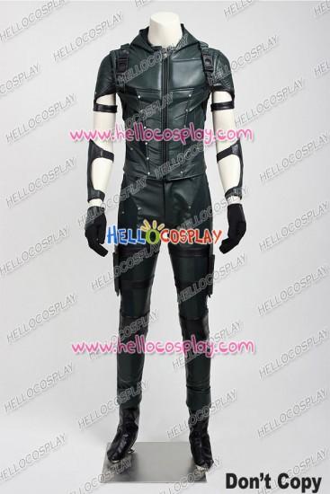 Green Arrow 4 Oliver Queen Cosplay Costume