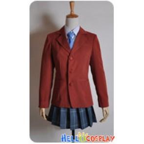 Tonari No Kaibutsu Kun Cosplay Costume Shizuku Mizutani School Girl Uniform