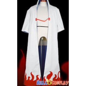 Naruto Cosplay Costume Yondaime Hokage Cloak