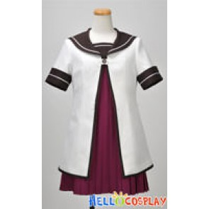 Yuru yuri Cosplay School Girl Uniform Akaza Costume