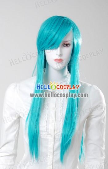 Cosplay Neon Blue Medium Wig